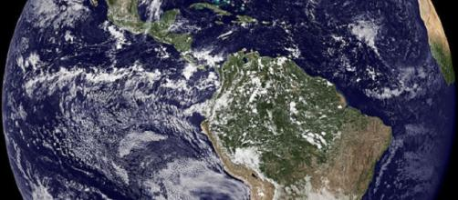 The Earth from space [image courtesy NASA]