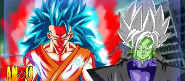 DBS La nueva transformación de Goku round 2 vs Black - blastingnews.com