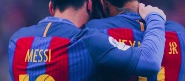 Messi conseille Neymar sur la piste Real Madrid (Crédits : Instagram de Neymar)