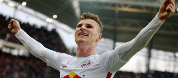 Noch trägt Timo Werner das Trikot des RB Leipzig. Doch für wie lange noch? (Quelle: thelocal.de)