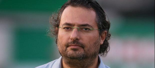 Diretor de futebol do Palmeiras, Alexandre Matos. (foto reprodução).