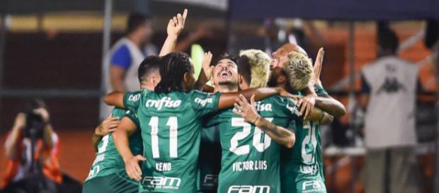 Palestra sai na frente em semifinal do Estadual - (Foto Djalma Vassão/Gazeta Press)