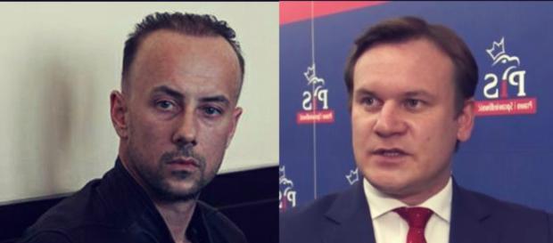 Tarczyński wkroczył do akcji, Nergal podkulił ogon (foto: wp.pl)