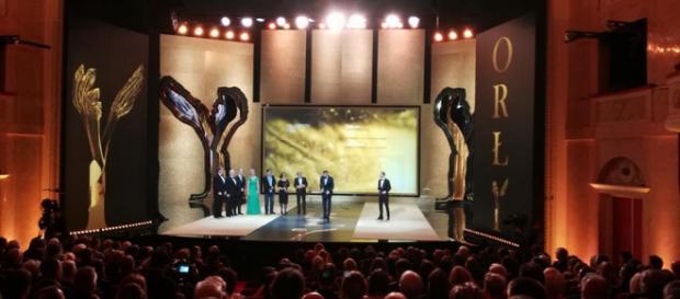 Twórcy 'Cichej nocy' odbierają Orła dla najlepszego filmu (fot. facebook/pnforly)