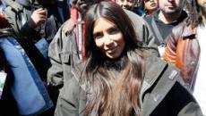 Kim Kardashian se unió a la marcha contra el uso de las armas en Washington DC