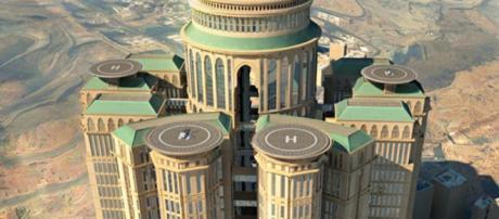 Los números acelerados de un hotel extraordinario y lujoso, que se espera que abra en Arabia Saudita para 2017. Pero no hay falta de argumento