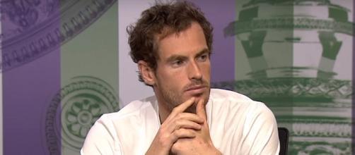 Andy Murray hasn't played an official match since 2017 Wimbledon. - [Photo: Wimbledon channel / YouTube screencap]
