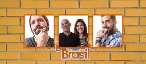 Caruso, família Lima e Kaysar estão no paredão do BBB18. (foto reprodução).