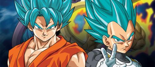Dragon Ball Super, Goku y Vegeta.
