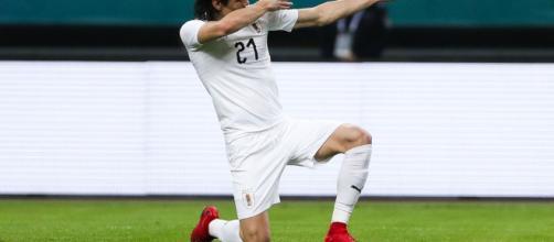 El matador da la victoria a Uruguay