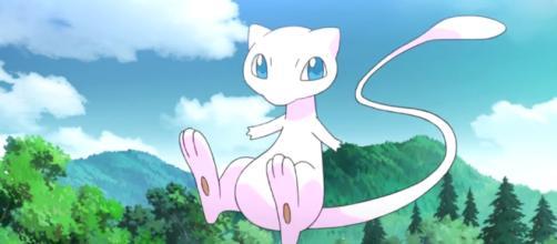 Mew en el anime de Pokemon GO_