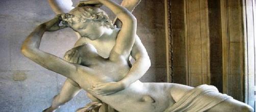 Mito de amor entre o deus grego Eros e Psiquê
