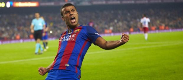 Barcelona 1-0 Granada: Rafinha's.