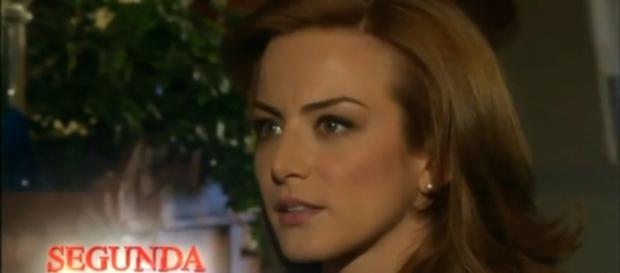 Fernanda se surpreende com Franco