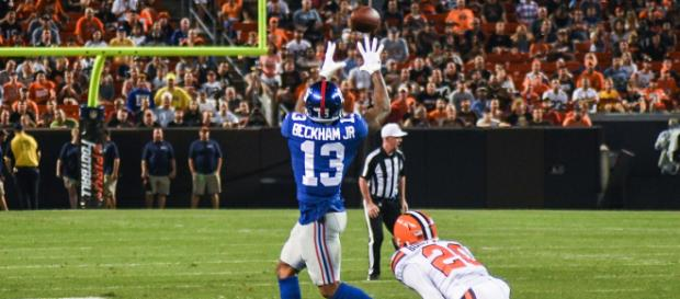 Odell Becham Jr. will not step onto the field without a contract extension - Eric Drost via Wikimedia Commons