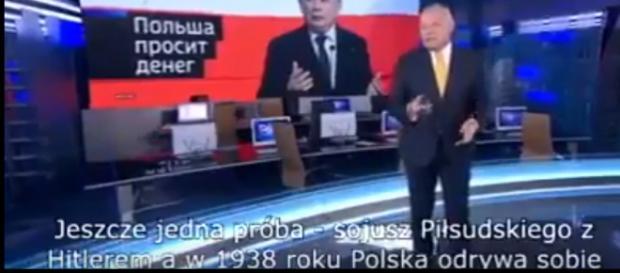 Skandaliczny program w rosyjskiej telewizji.