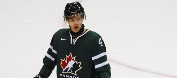 Taylor Hall has resurrected his career since joining the New Jersey Devils [Image via Flickr]