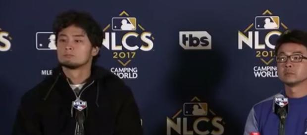 Yu Darvish Postgame Interview | Dodgers vs Cubs Game 3 NLCS - Image - Dodgers Highlights | YouTube