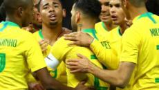La ausencia de Neymar no afectó al juego de Brasil
