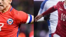 Chile y Dinamarca buscarán dar sorpresa con sus respectivas alineaciones