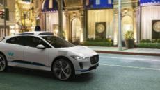 El nuevo crossover eléctrico I-Pace de Jaguar vehículo premium de Waymo