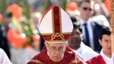 Vibrante llamada del papa a la alegría
