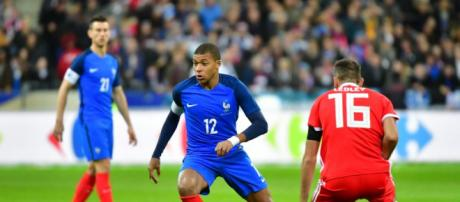 Amical - Mbappé titulaire avec les Bleus face à la Colombie - madeinparisiens.com