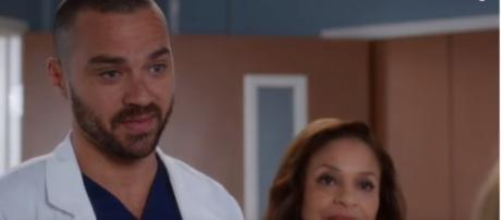 Jesse Williams on season 14 of 'Grey's Anatomy.' [Image source: TVPromos/ YouTube: screenshot]