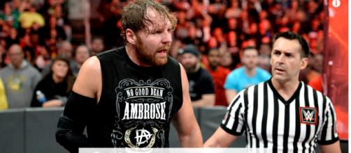 After injuries sidelines the wrestler, Dean Ambrose may return.[image source: WWE/YouTube screenshot]