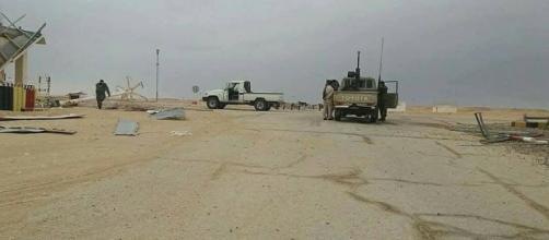 Campo de petróleo de Libia-Ghani saqueó y prendió fuego ayer, en ... - liveuamap.com