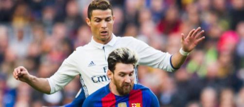 Cristiano Ronaldo e Messi mantêm rivalidade
