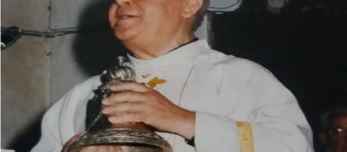 don Calogero La Placa oggi ha festeggiato 70 anni di sacerdozio
