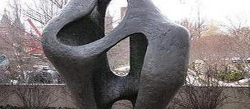 'Figure in Landscape' by Barbara Hepworth/Wikipedia