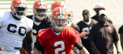 Former Browns quarterback Johnny Manziel is expected to throw at Texas A&M pro day.- [Eric Daniel Drost via Flicr]