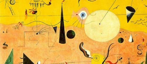 Joan miró es uno de los artistas más importantes del s. XX