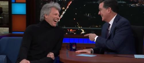 Jon Bon Jovi in an interview. - [The Late Show with Stephen Colbert / YouTube screencap]