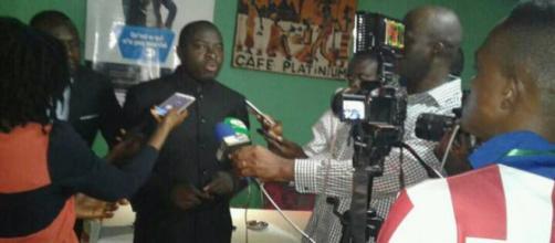 L'humoriste, journaliste et écrivain camerounais Martial Bissog