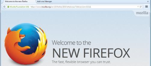 Nueva extensión de Mozilla Firefox.