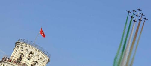Sorpresa: a Pisa tornano le Frecce tricolori - Cronaca - il Tirreno - gelocal.it