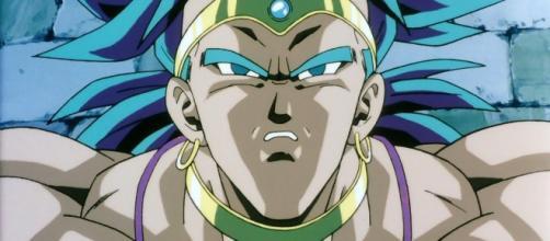 Un Saiyajin misterioso y poderoso que está destruyendo planetas enteros de todo el Galaxy