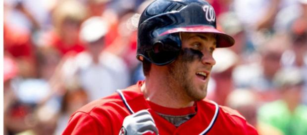 Bryce Harper is on the short list of National League MVP candidates. - [Image Source: Flickr | Keith Allison]