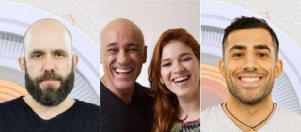 Caruso, Família Lima e Kaysar formam o paredão da semana
