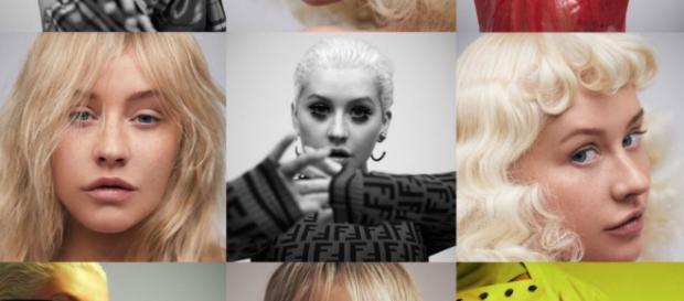 Christina Aguilera y las mas destacadas instantáneas de la sesión de fotos para Paper Magacine (#XtinaPAPER)