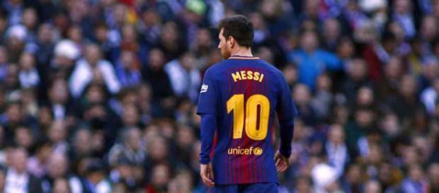 Leo Messi é a estrela maior do Barcelona (foto reprodução).