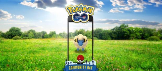Mareep una pequeña y encantadora oveja eléctrica en el próximo día de la Comunidad, Pokémon GO