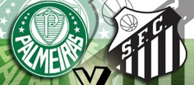 Palmeiras x Santos ao vivo nesta terça-feira (27)