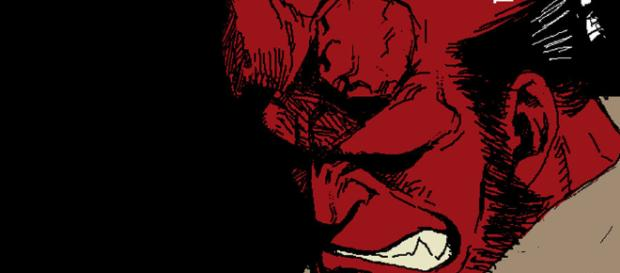 Hellboy es el famoso personaje del cine de cómics.