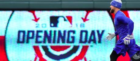 Always an abundance of memorable moments on an Major League Baseball Opening Day. [image source: The Denver Post/YouTube screenshot]