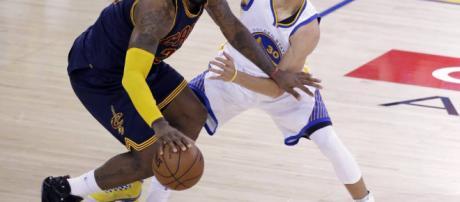 Cavaliers vs Warriors choque de titanes