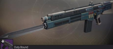 'Destiny 2's' Legendary Auto Rifle Duty Bound - YouTube/Mesa Sean